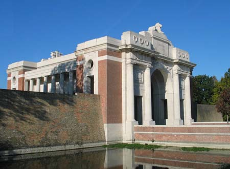 Menin Gate and Moat