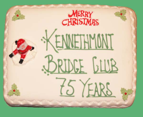 Kennethmont Bridge Club 1933-2008