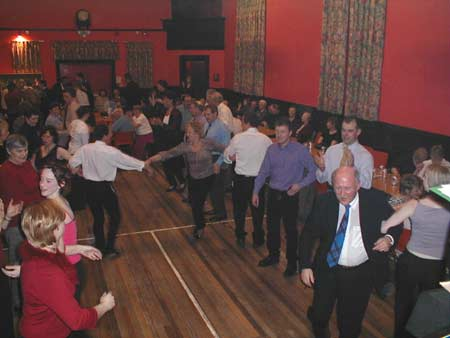 Dancing in the Rannes Hall