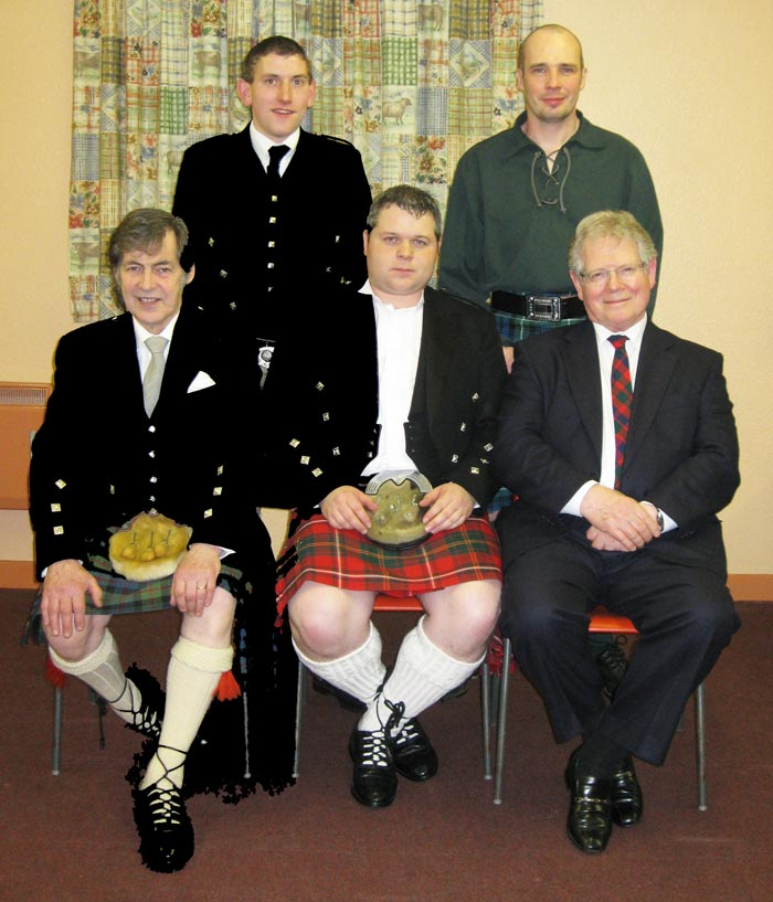 Kennethmont Burns Supper speakers 2009