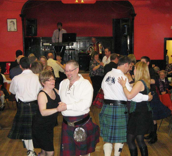 Burns Supper Dance