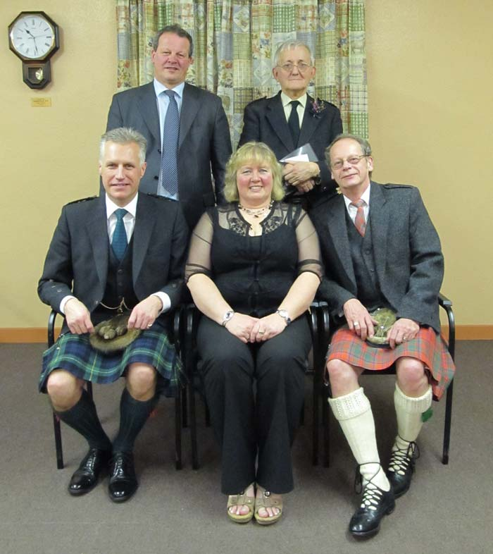 Kennethmont Burns Supper speakers 2012
