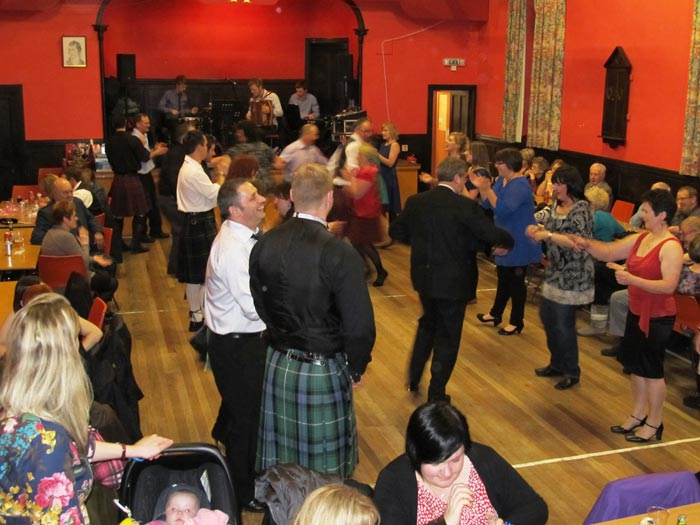 Kennethmont Burns Supper 2013