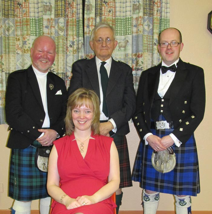 Kennethmont Burns Supper speakers 2013