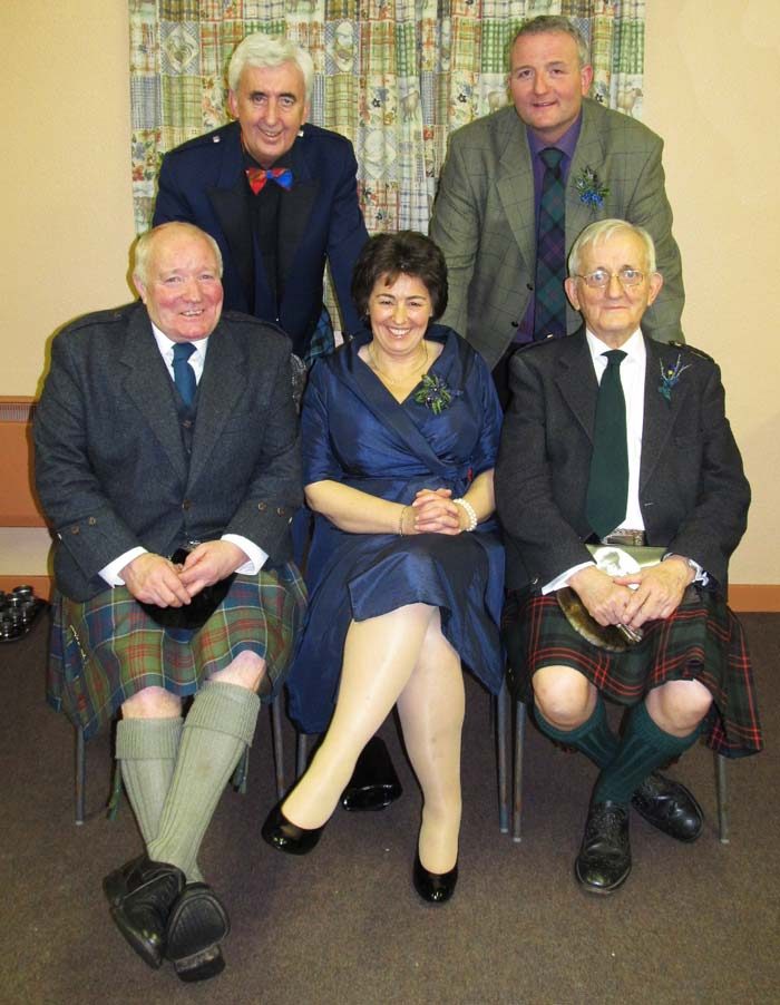 Kennethmont Burns Supper speakers 2014